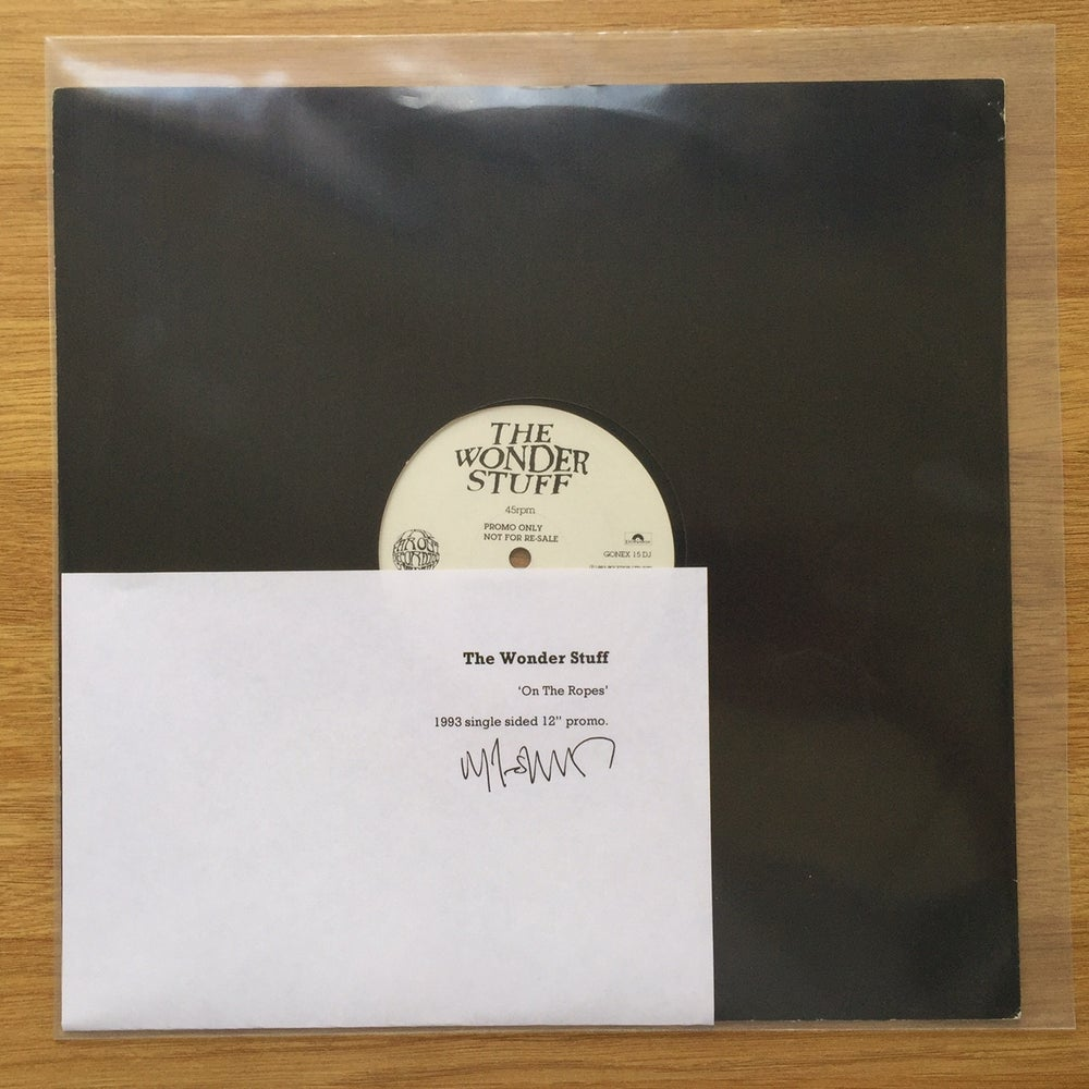 """Image of On The Ropes single sided 12"""" promo (1 available)"""