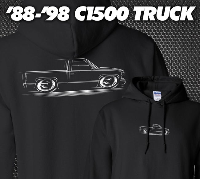 Image of '88-'98 Chevy/GMC T-Shirts Hoodies Banners