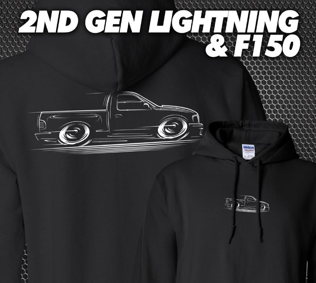 Image of 2nd Gen Lightning & F150 T-Shirts Hoodies Banners
