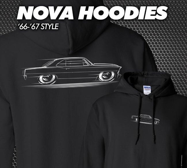 Image of '66-'67 Nova T-Shirts Hoodies Banners