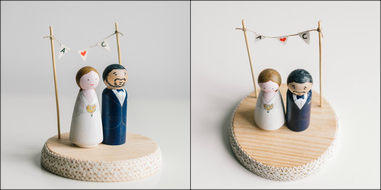 Image of Figuras de Boda personalizadas + Arco de Flores