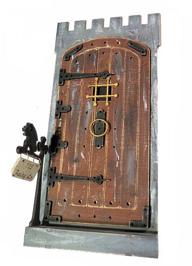 Image of #105 Fairy Lane-Fairy Door Wood Kit