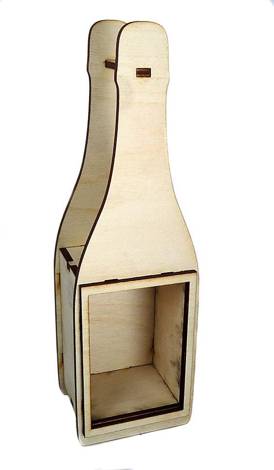 Image of Wood Shrine Kits- Wine Bottle