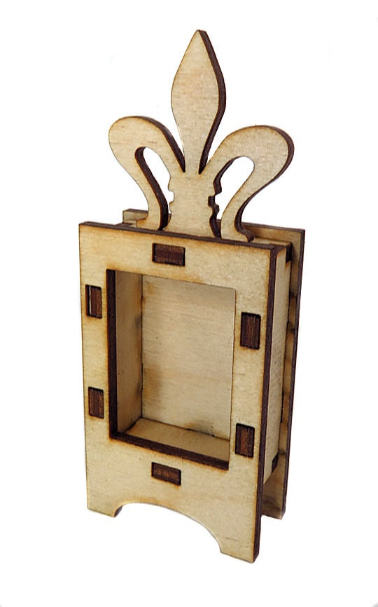 Image of Wood Shrines-Tiny Shrines- Shaker Leg Shrine