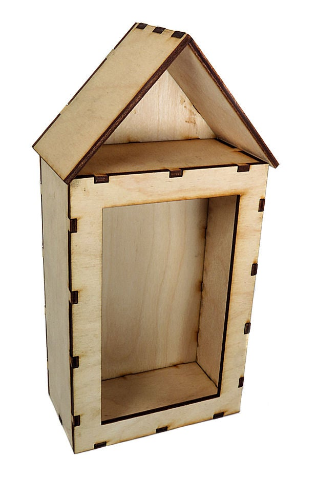 Image of Wood Shrines- Large Vignette Shrines- House Shrine