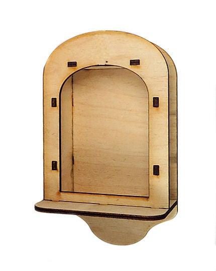 Image of Wood Shrines- ATC Sized - Wall Shrine