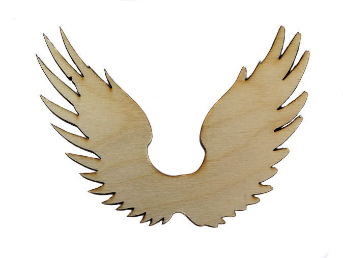 Image of Wooden Icons- Solid Wings