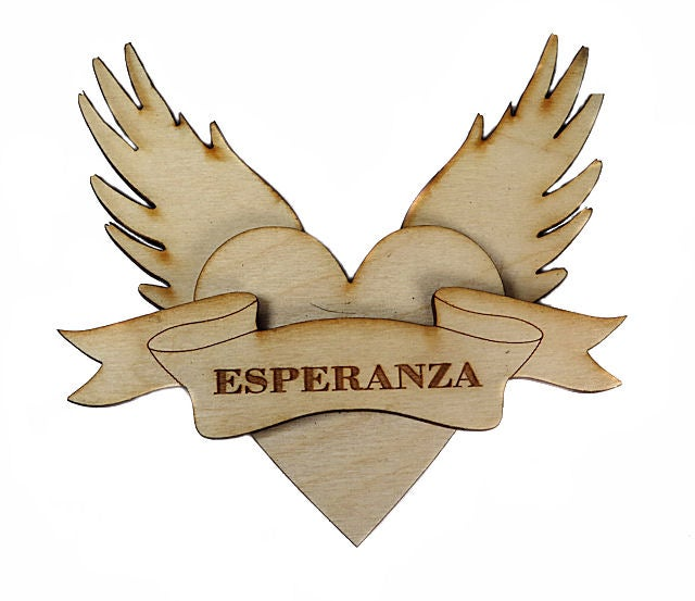 Image of Wooden Icons- Esperanza