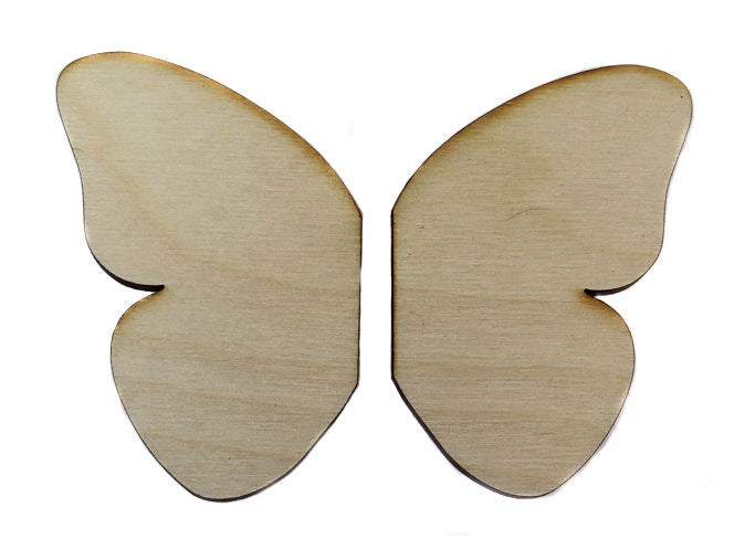 Image of Wooden Icon- Butterfly Wings Split