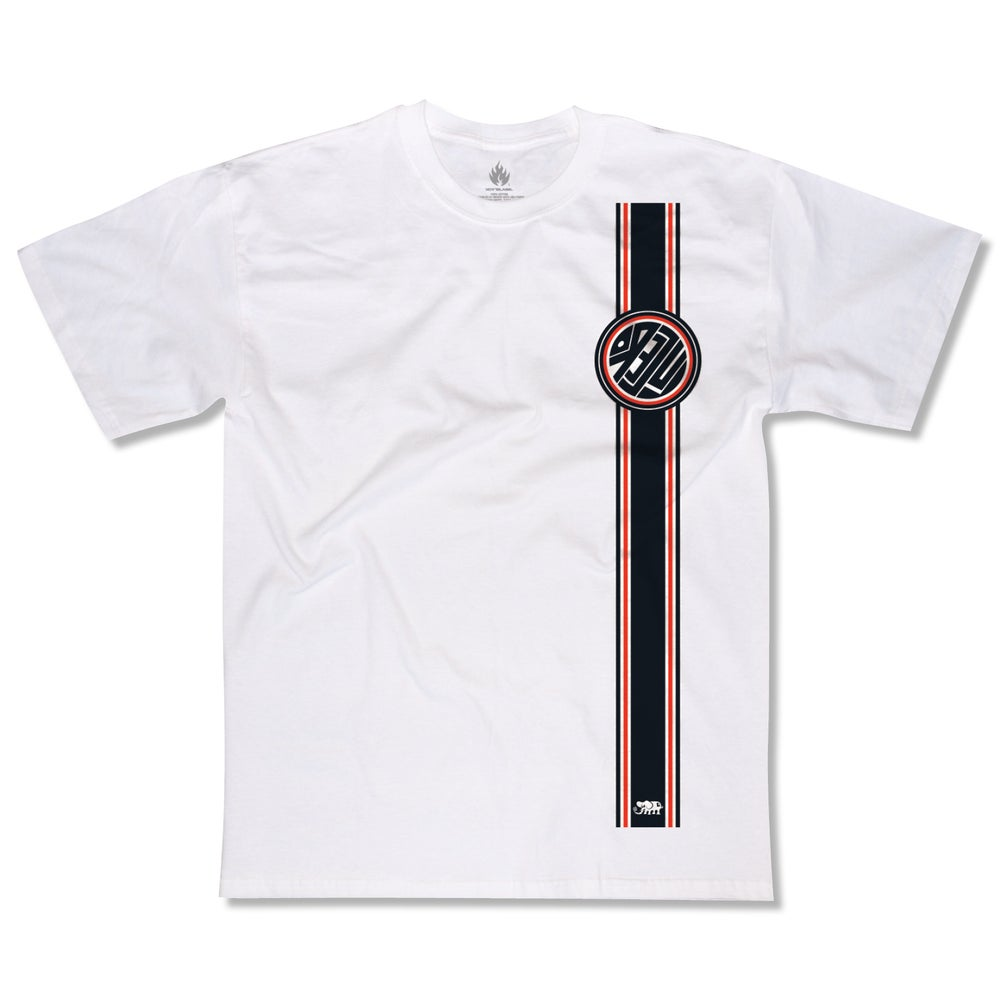 "Image of John Lucero ""Racing Stripe"" tee"