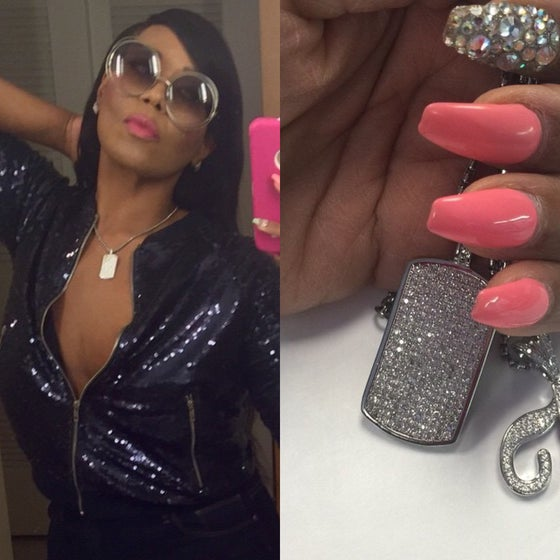 Image of Bling Dogtag