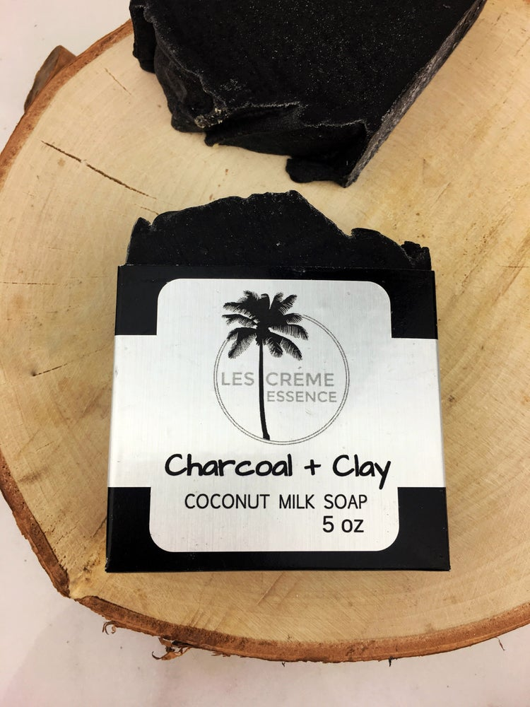 Image of Charcoal + Clay Coconut Milk Soap