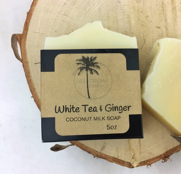 Image of White Tea + Ginger Coconut Milk Soap