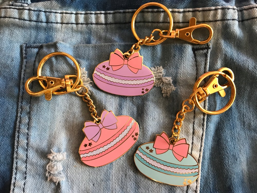 Image of Macaron Bag Charm/Keychain