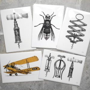 Image of CJP Art Greetings Cards
