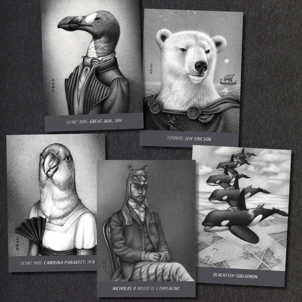 Image of Set of 20 postcards
