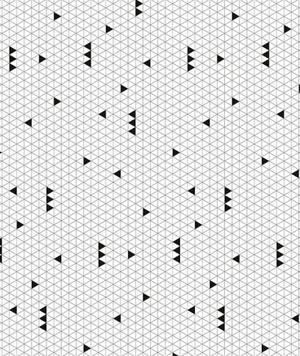 Image of Papel pintado blanco y negro