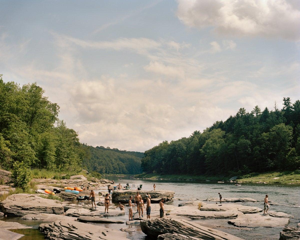 Image of Skinners Falls, NY
