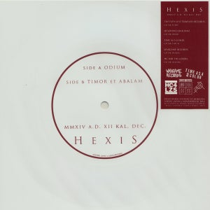 "Image of Hexis ""MMXIV A.D. XII KAL. DEC"" Flexi 7""EP"