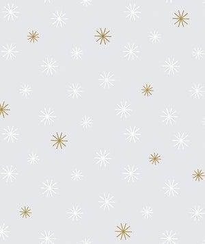 Image of Papel pintado copos de nieve