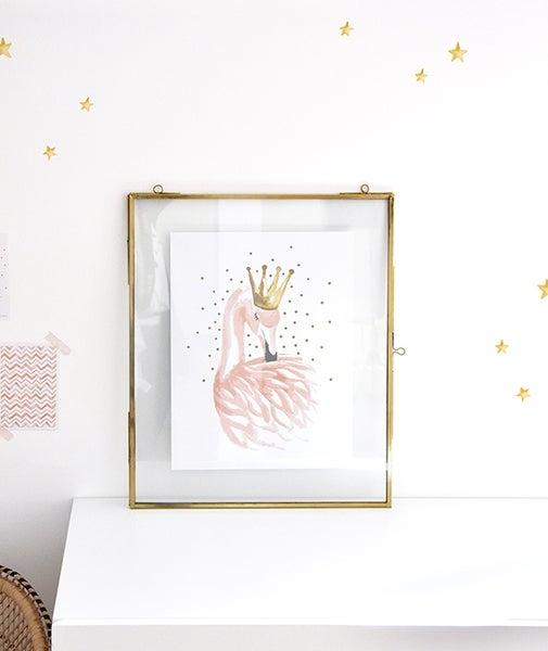 Image of Lámina Infantil Flamingo