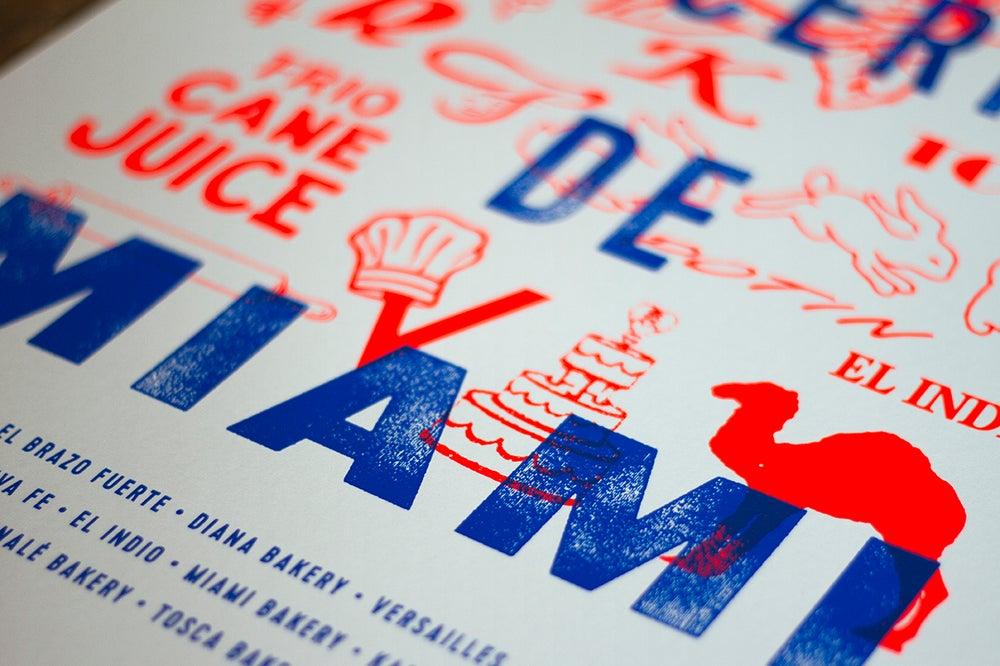 Image of Bakeries of Miami Print