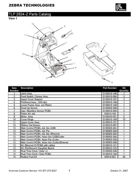Image of Download Driver Zebra Tlp 3842