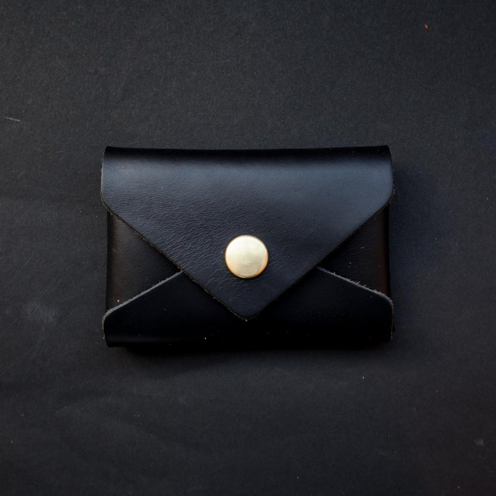 Image of Black Card Envelope