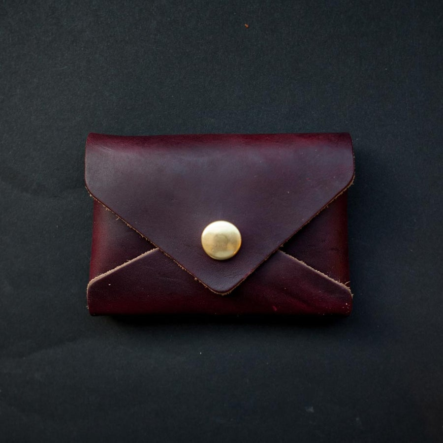 Image of Oxblood Card Envelope