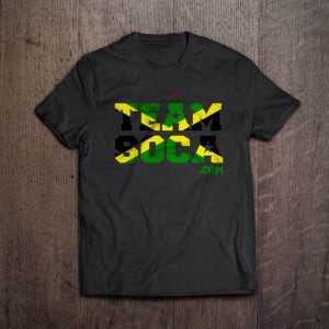 Image of Team Soca Island T Shirts - Jamaica