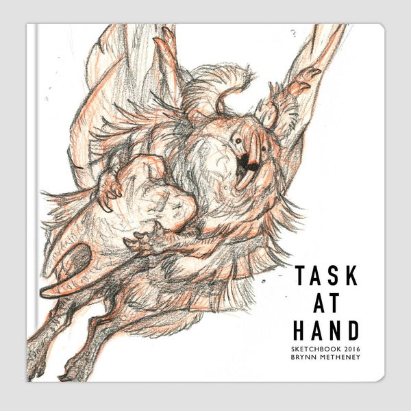 Image of Task at Hand : Sketchbook 2017