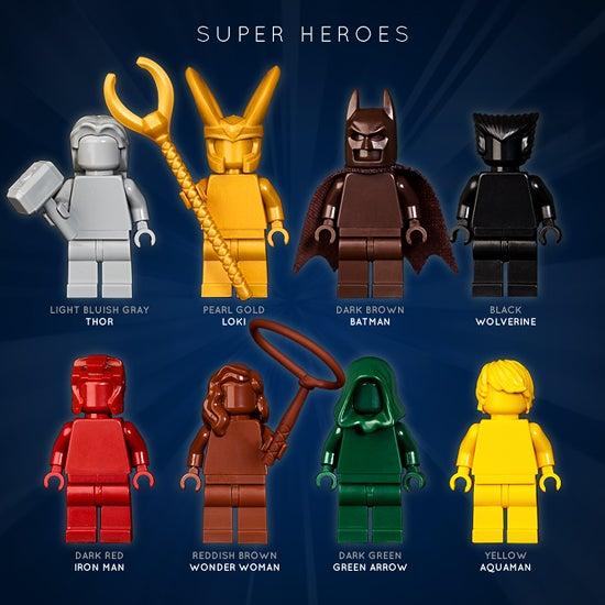 Image of SUPER HEROES SET