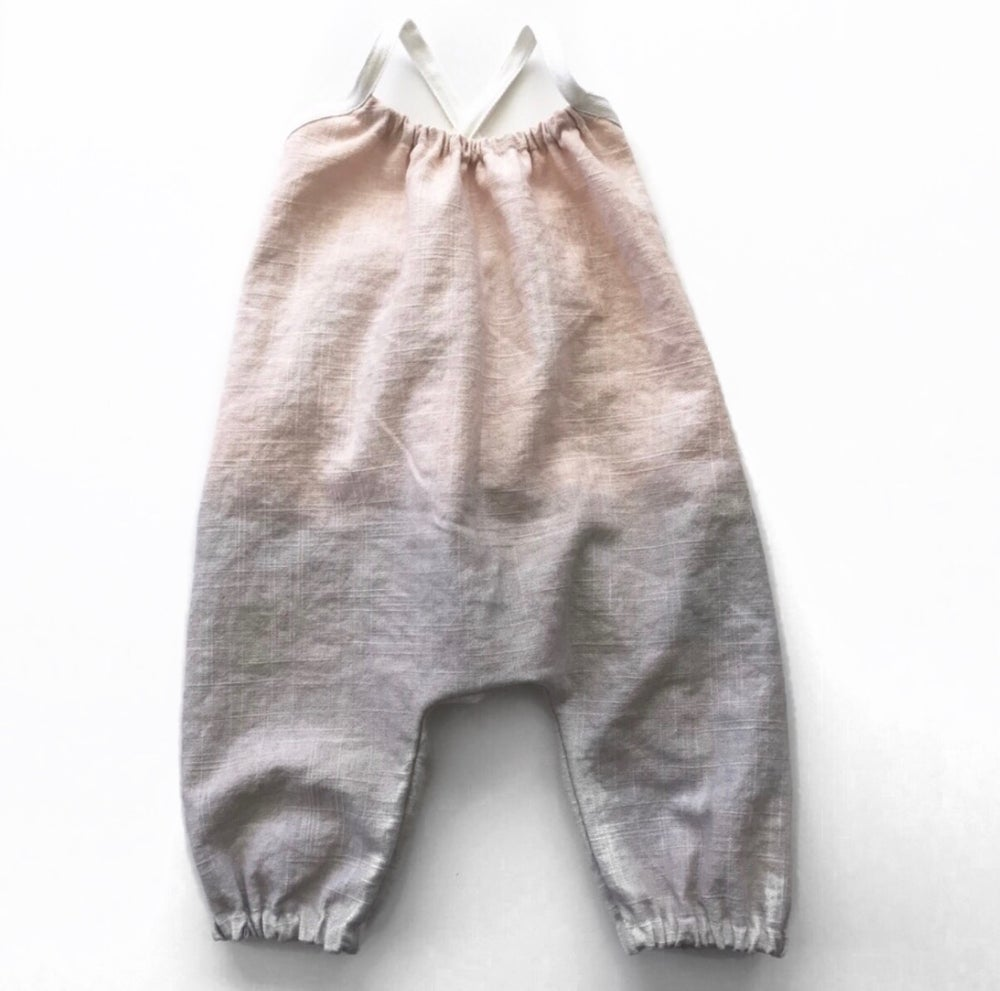 Image of Briar Romper in Fawn Taro