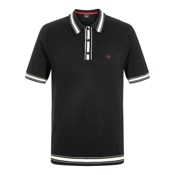 Image of Merc London SADLER KNIT POLO