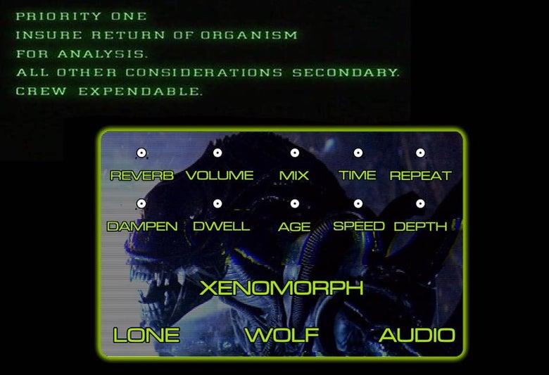 Image of Xenomorph Delay/reverb pre order