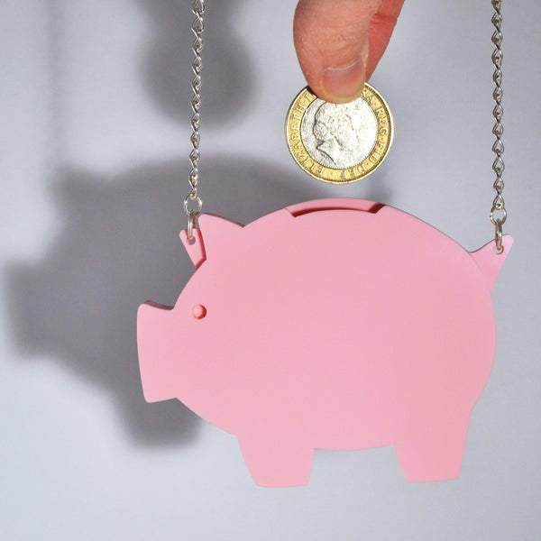 Image of Piggy Bank Necklace