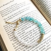 Image of Wish Bracelet - Aquamarine SOLD