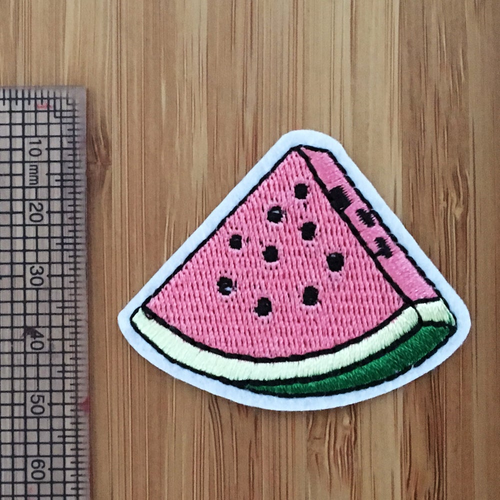 Image of Watermelon slice Iron on Patch