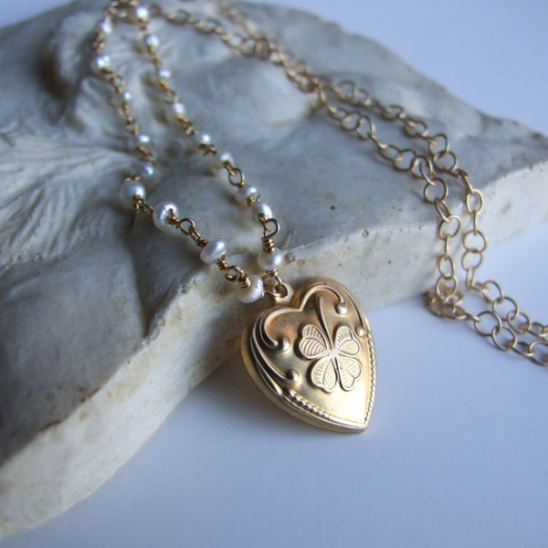 Image of Contented Heart Necklace