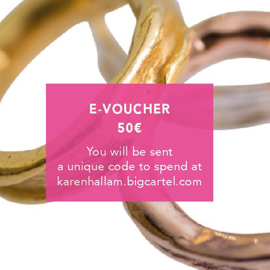 Image of GIFT VOUCHER FOR 50€