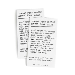 Image of Know Your Worth Magnets