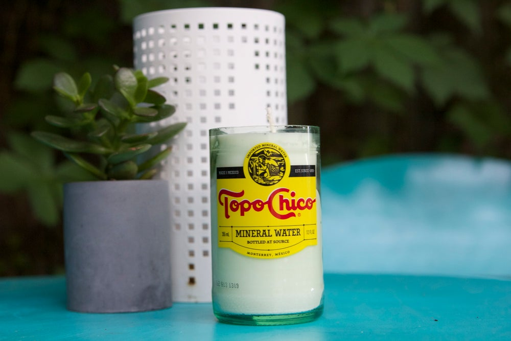 Image of Topo Chico Lemongrass Soy Candle