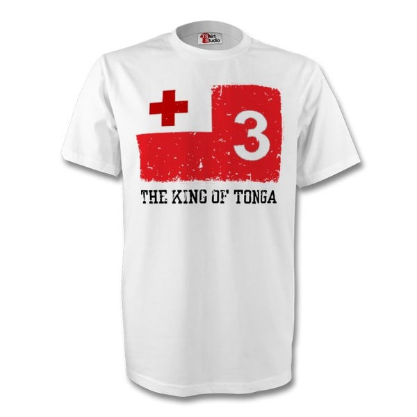 Image of Men's King of Tonga tee