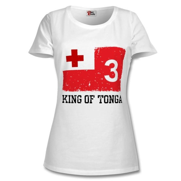 Image of Women's King of Tonga tee