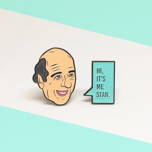 Image of Stan Enamel Pin Set!