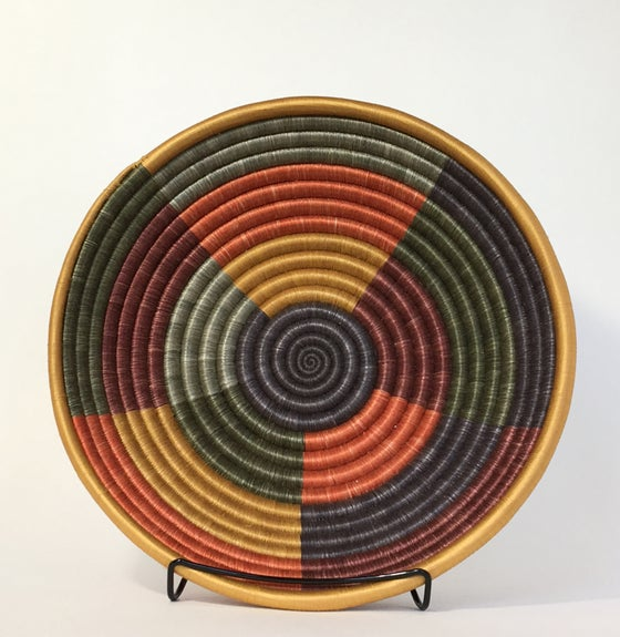 Image of Hand Woven African Basket | Sunrise