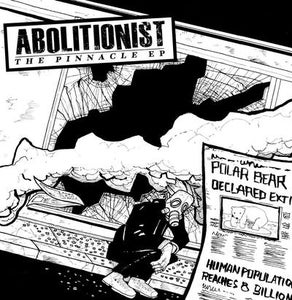"""Image of DKR016 - Abolitionist - The Pinnacle EP 7"""" BLUE or BLACK Vinyl"""