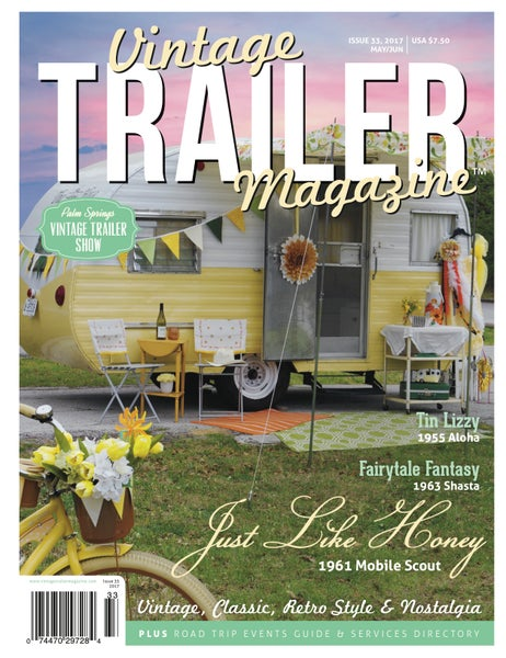 Image of Issue 33 Vintage Trailer Magazine