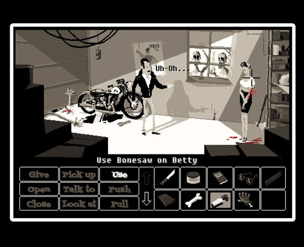 Image of Use Bonesaw on Betty