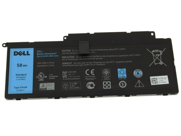 Image of New,Dell F7HVR Battery,£39.99,Original Dell F7HVR Battery,Genuine Dell F7HVR Battery.